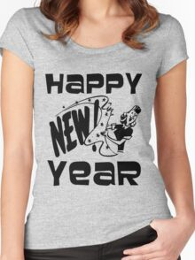 HAPPY NEW YEAR-2 Women's Fitted Scoop T-Shirt