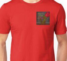 Serenity Prayer Rose in Glass Unisex T-Shirt