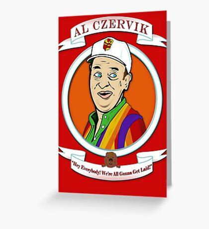 Caddyshack - Al Czervik Greeting Card