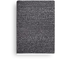 """""""Dictionary 2"""" (air-cooled-anticipate) Canvas Print"""