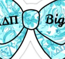 ADPi Lilly Bow - Big Sticker
