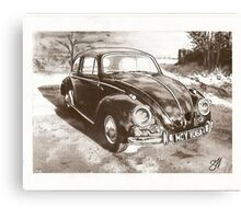 The Battered, Beaten, Bug Canvas Print