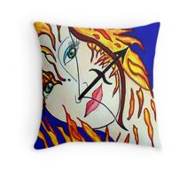 Sagittarrius Throw Pillow