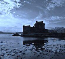 Blue Reflections o'Eilean - Eilean Donan Castle by caledoniadreamn