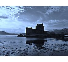 Blue Reflections o'Eilean - Eilean Donan Castle Photographic Print