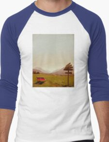 Vintage Holiday Men's Baseball ¾ T-Shirt