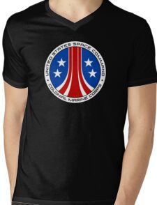 United States Colonial Marine Corps Insignia - Aliens Mens V-Neck T-Shirt