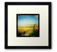 Moorland - The West Pennine Moors Framed Print
