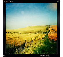 Moorland - The West Pennine Moors Photographic Print