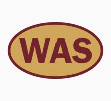 Washington - WAS - football - oval sticker and more by welikesports