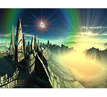 Emerald City - Planet Oz Photographic Print
