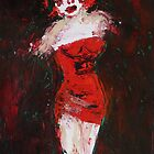 lady of the night 3, 2011 by Thelma Van Rensburg