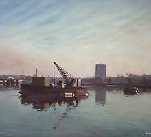 Southampton Northam river Itchen by martyee