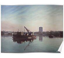 Southampton Northam river Itchen Poster