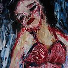 lady of the night 4,2011 by Thelma Van Rensburg