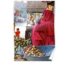 Guava Seller, Jodhpur Poster