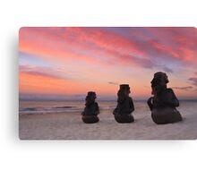 Beach Bouncers Canvas Print