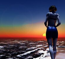 The Perfect Sundown. by alaskaman53