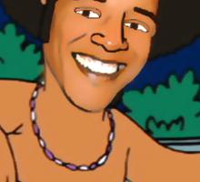 president obama cartoon - from family guy Sticker
