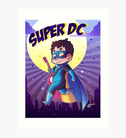 Super DC Art Print