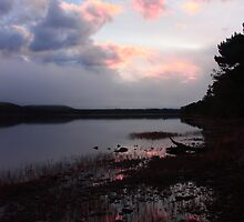 Sunset over the Loch by Paul Turri
