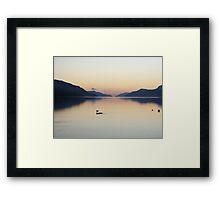 Oh So Still - Loch Ness Framed Print