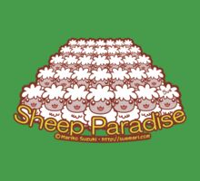 Sheep Paradise Kids Tee