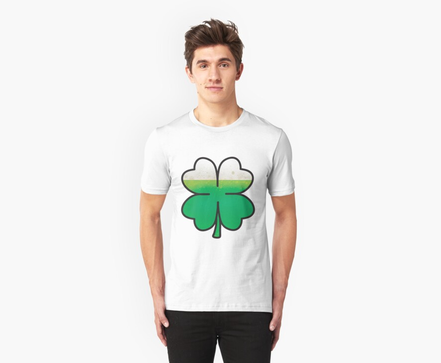 Green Beer Leaf Clover  by Waco100