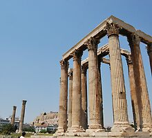The Temple of Olympian Zeus by ryanjohnscott