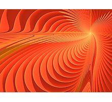 Energetic Waves  Photographic Print