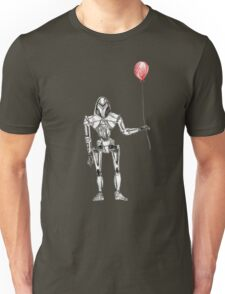 Cylon Centurion with Red Balloon Unisex T-Shirt