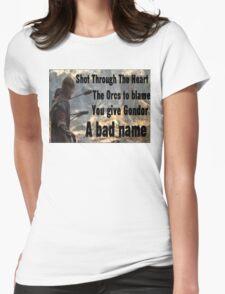 boromir Womens Fitted T-Shirt