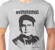 Charlie Sheen Winning T shirt-Blank Background Unisex T-Shirt