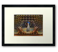 The Enslaved Princess Of Titan Framed Print