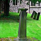 Sundial in St Leonard's Churchyard, Thorpe by Rod Johnson