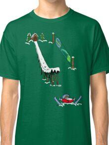 usa california skiier tshirt by rogers bros Classic T-Shirt