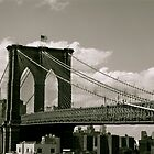 Brooklyn Bridge by tconfer983