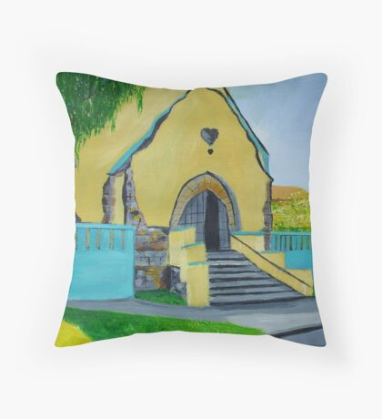 Old Chapel / Budapest-Hungary Throw Pillow
