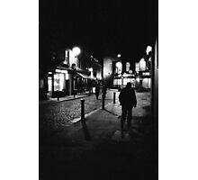 Dublin - Temple Bar at night Photographic Print