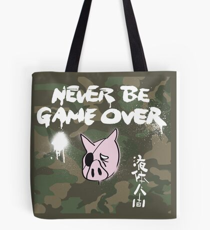 Never Be Game Over Tote Bag