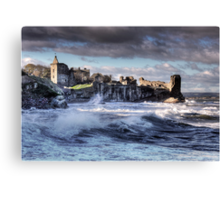 St Andrews Castle Canvas Print