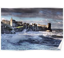 St Andrews Castle Poster