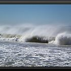Angry ocean by Charles Hallsted
