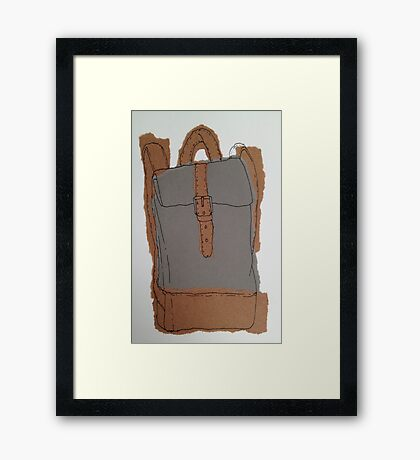 rucksack 2 Framed Print