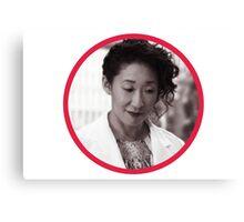 Dr. Cristina Yang Canvas Print