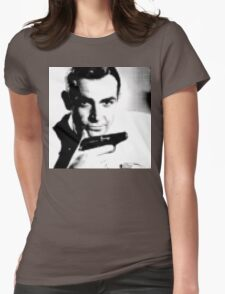 Sean Connery Womens Fitted T-Shirt