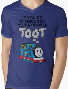 Prosti-TOOT Mens V-Neck T-Shirt
