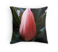 THE BEUTY QUEEN Throw Pillow