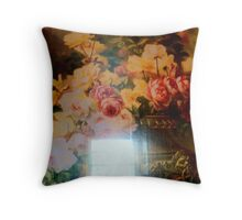 Inside looking out! Throw Pillow