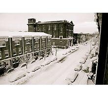 A Ghetto Snowstorm Photographic Print